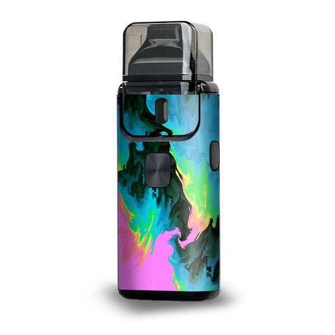 Water Colors Trippy Abstract Pastel Preppy Aspire Breeze 2 Skin