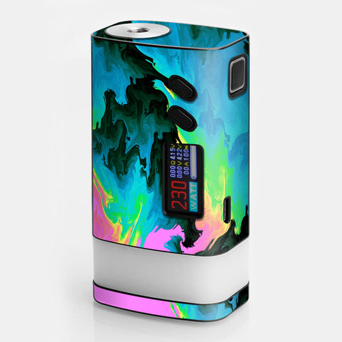 Water Colors Trippy Abstract Pastel Preppy Sigelei Fuchai Glo 230w Skin