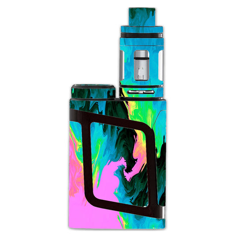 Water Colors Trippy Abstract Pastel Preppy Smok AL85 Skin
