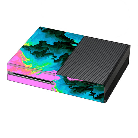 Water Colors Trippy Abstract Pastel Preppy Microsoft Xbox One Skin