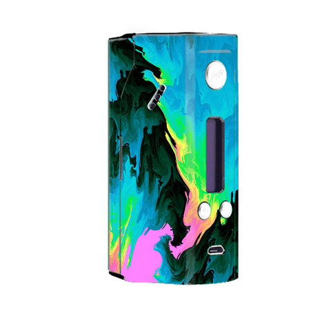 Water Colors Trippy Abstract Pastel Preppy Wismec Reuleaux RX200 Skin