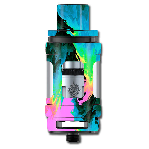 Water Colors Trippy Abstract Pastel Preppy Smok TFV12 Cloud King Beast  Skin
