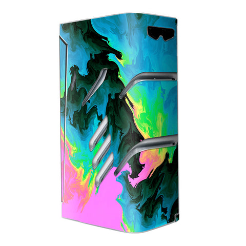 Water Colors Trippy Abstract Pastel Preppy Smok T-Priv Skin