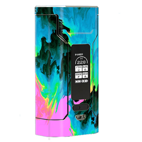 Water Colors Trippy Abstract Pastel Preppy Wismec Predator 228W Skin