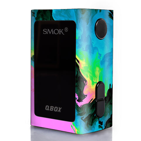 Water Colors Trippy Abstract Pastel Preppy Smok Qbox 50w tc Skin