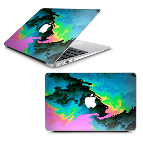 "Water Colors Trippy Abstract Pastel Preppy Macbook Air 13"" A1369 A1466 Skin"