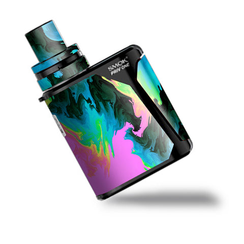 Water Colors Trippy Abstract Pastel Preppy Smok Priv One Skin