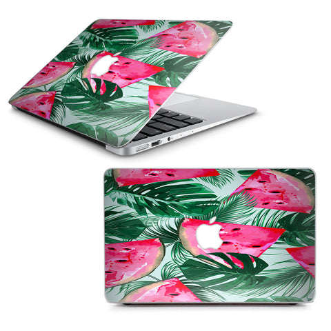 "Watermelon Pattern Palm Macbook Air 13"" A1369 A1466 Skin"