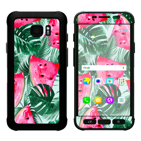 Watermelon Pattern Palm Samsung Galaxy S7 Active Skin