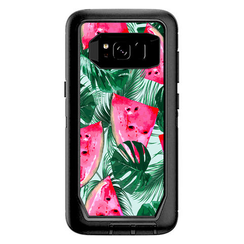 Watermelon Pattern Palm Otterbox Defender Samsung Galaxy S8 Skin