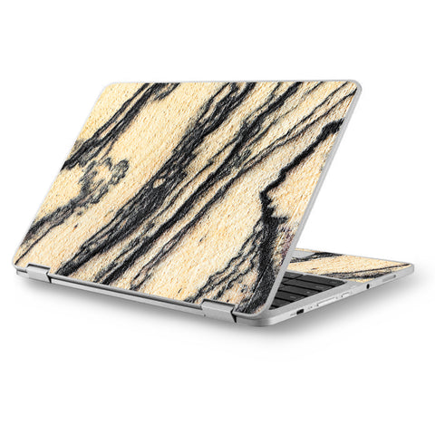 "White Purple Crystals Geode Stone Asus Chromebook Flip 12.5"" Skin"