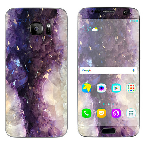 Wood Marble  Samsung Galaxy S7 Edge Skin