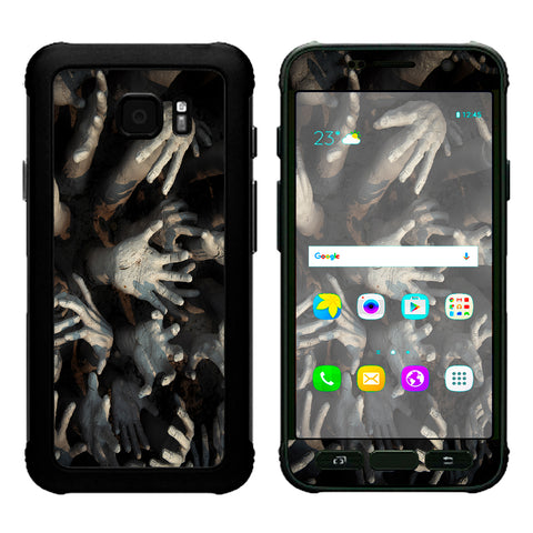 Zombie Hands Dead Trapped Walking Samsung Galaxy S7 Active Skin