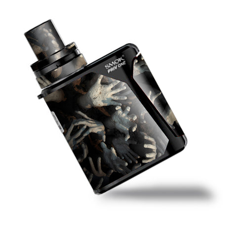 Zombie Hands Dead Trapped Walking Smok Priv One Skin