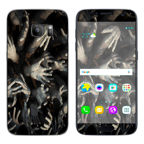Zombie Hands Dead Trapped Walking Samsung Galaxy S7 Skin