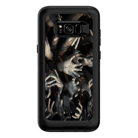 Zombie Hands Dead Trapped Walking Otterbox Defender Samsung Galaxy S8 Plus Skin