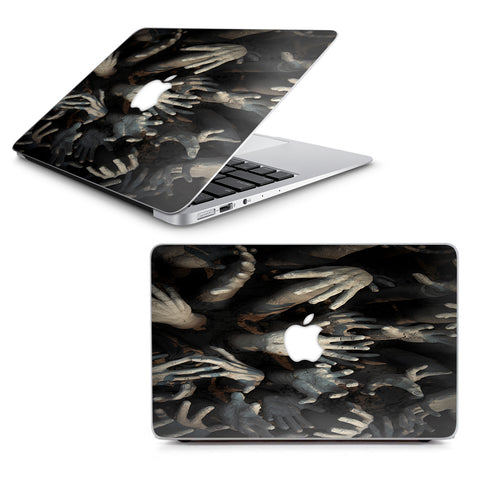 "Zombie Hands Dead Trapped Walking Macbook Air 11"" A1370 A1465 Skin"