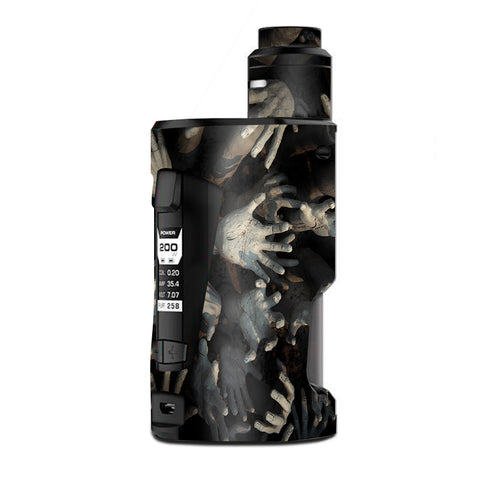 Zombie Hands Dead Trapped Walking G Box Squonk Geek Vape Skin