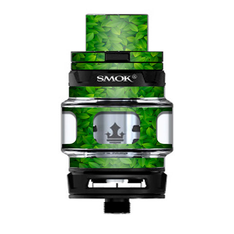 Green Leaves Prince TFV12 Tank Smok Skin