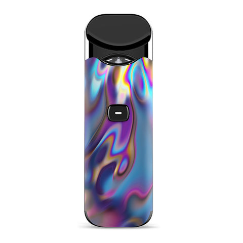 Opalescent Resin Marble Oil Slick Smok Nord Skin