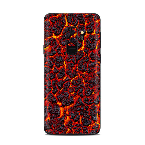 Burnt Top Lava Eruption Ash Samsung Galaxy S9 Plus Skin