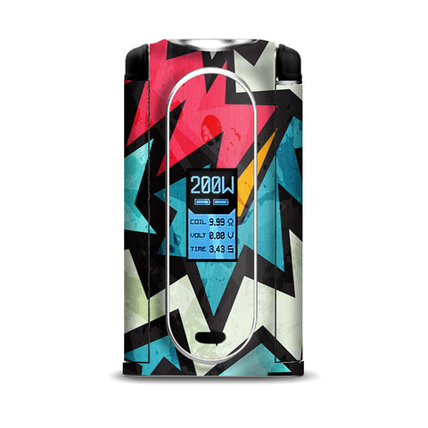 Pop Art Design VooPoo Vmate Skin
