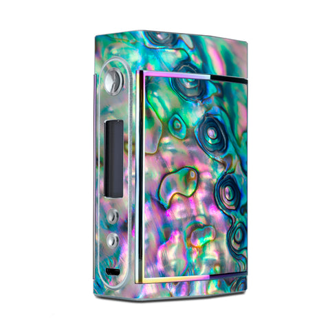 Abalone Shell Pink Green Blue Opal Too VooPoo Skin