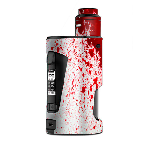 Blood Splatter Dexter G Box Squonk Geek Vape Skin