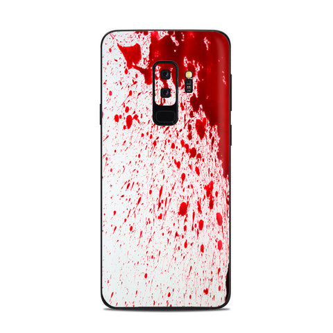 Blood Splatter Dexter Samsung Galaxy S9 Plus Skin