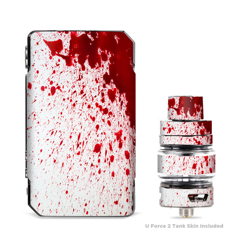 Blood Splatter Dexter VooPoo Drag Mini Skin