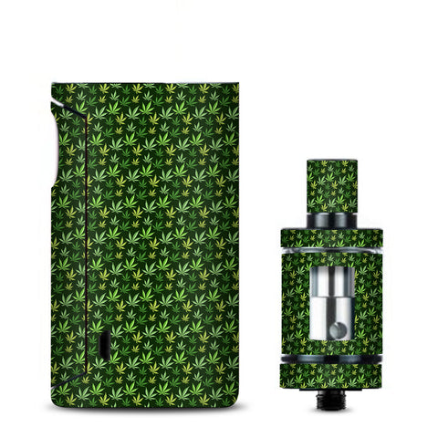 Pot Leaves Small Green Stoner Vaporesso Drizzle Fit Skin