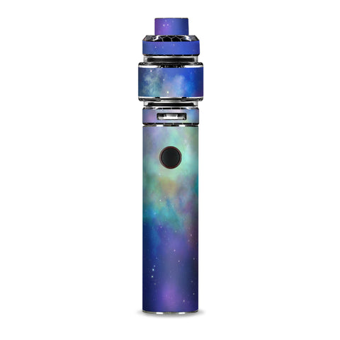 Lavender Blue Purple Galaxy Smok Resa Stick Kit Skin