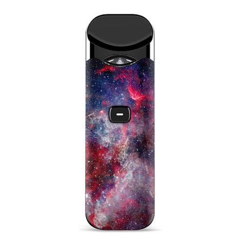 Red Pink Blue Galaxy Cosmic Smok Nord Skin