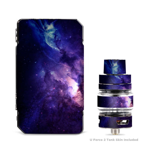Dark Solar Burst Galaxy Nebula VooPoo Drag Mini Skin
