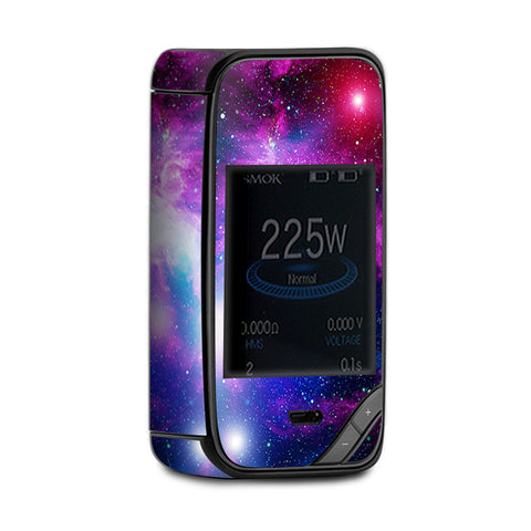 Stars Galaxy Red Blue Purple Gasses  Smok X-Priv Skin