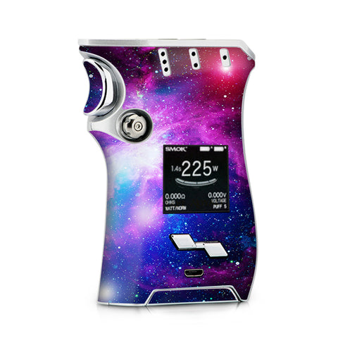 Stars Galaxy Red Blue Purple Gasses  Smok Mag Skin
