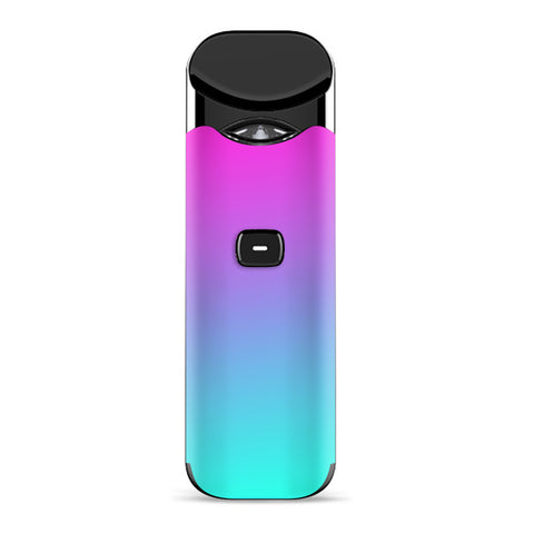 Hombre Pink Purple Teal Gradient Smok Nord Skin