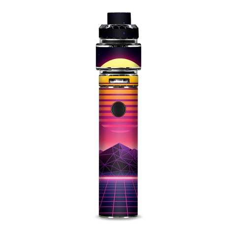 80S Techno Sunset Smok Resa Stick Kit Skin