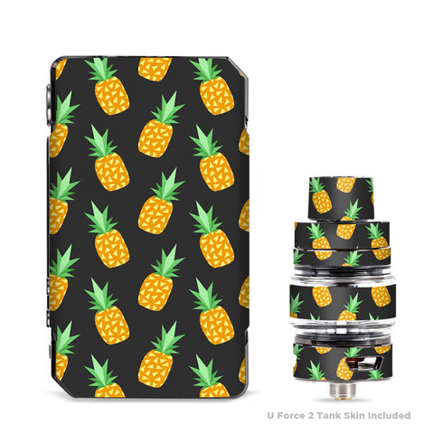 Pineapples Grey Pattern  VooPoo Drag Mini Skin