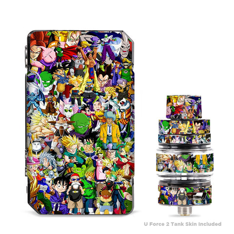 Anime Stickerslap Sticker Bomb VooPoo Drag Mini Skin