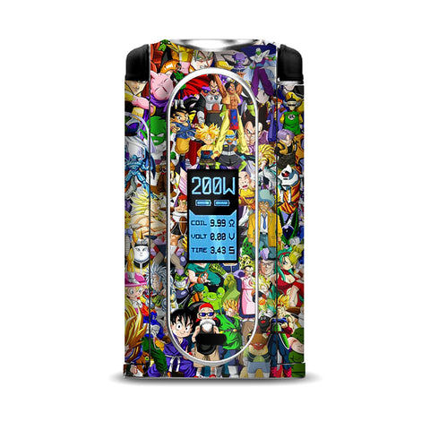 Anime Stickerslap Sticker Bomb VooPoo Vmate Skin