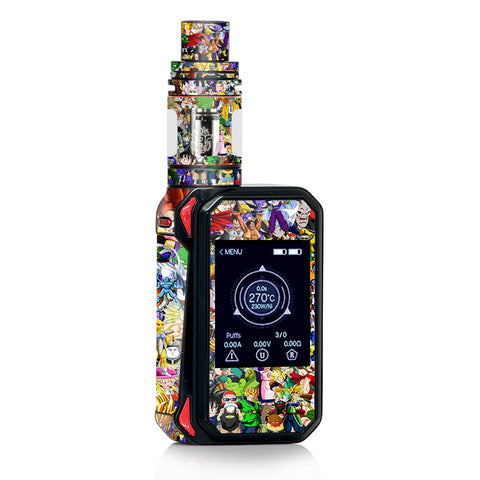 Anime Stickerslap Sticker Bomb Smok Gpriv2 Skin