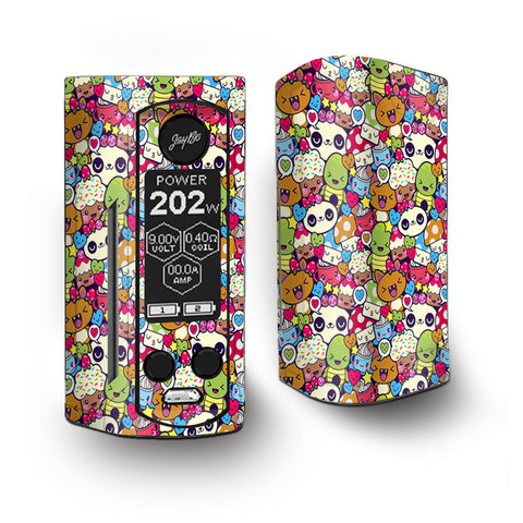 Panda Anime Cartoon Stickerslap Vaporesso Armour Kit Skin
