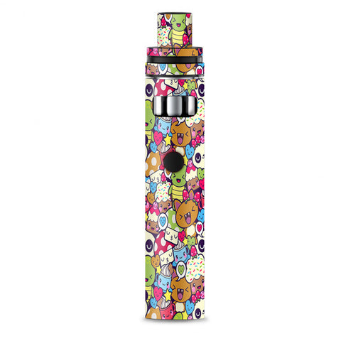 Panda Anime Cartoon Stickerslap Smok Stick AIO Skin