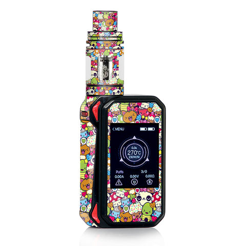 Panda Anime Cartoon Stickerslap Smok Gpriv2 Skin