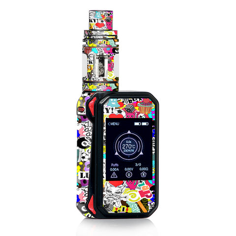 Art Lucky Stickerslap Smok Gpriv2 Skin