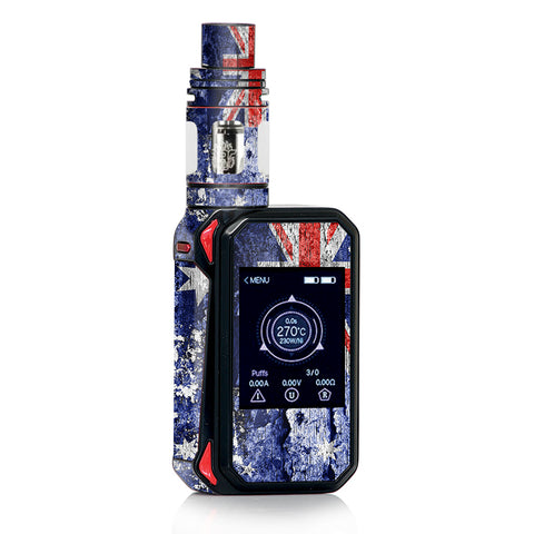 Flag Australia Grunge Distressed Country Smok Gpriv2 Skin
