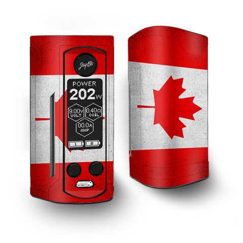 Flag Canada Grunge Distressed Country Vaporesso Armour Kit Skin