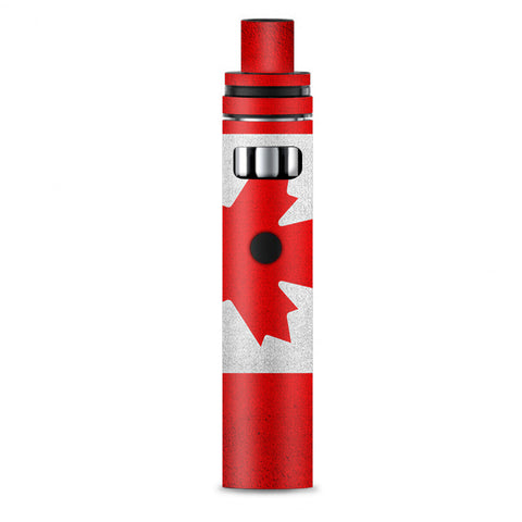 Flag Canada Grunge Distressed Country Smok Stick AIO Skin
