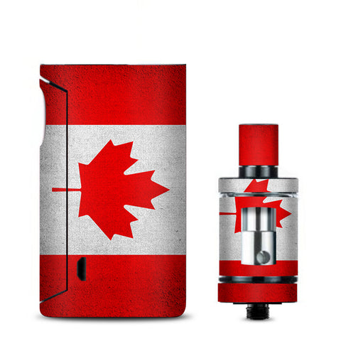 Flag Canada Grunge Distressed Country Vaporesso Drizzle Fit Skin
